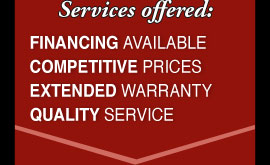 We offer many quality services